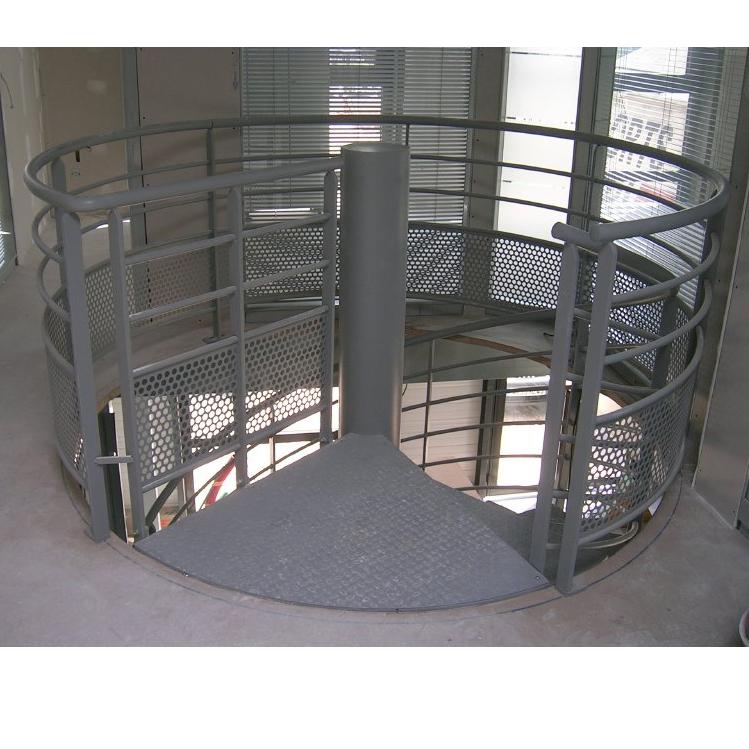 Escalier h licoidal pour plateforme de stockage rayonor for Filet de protection mezzanine
